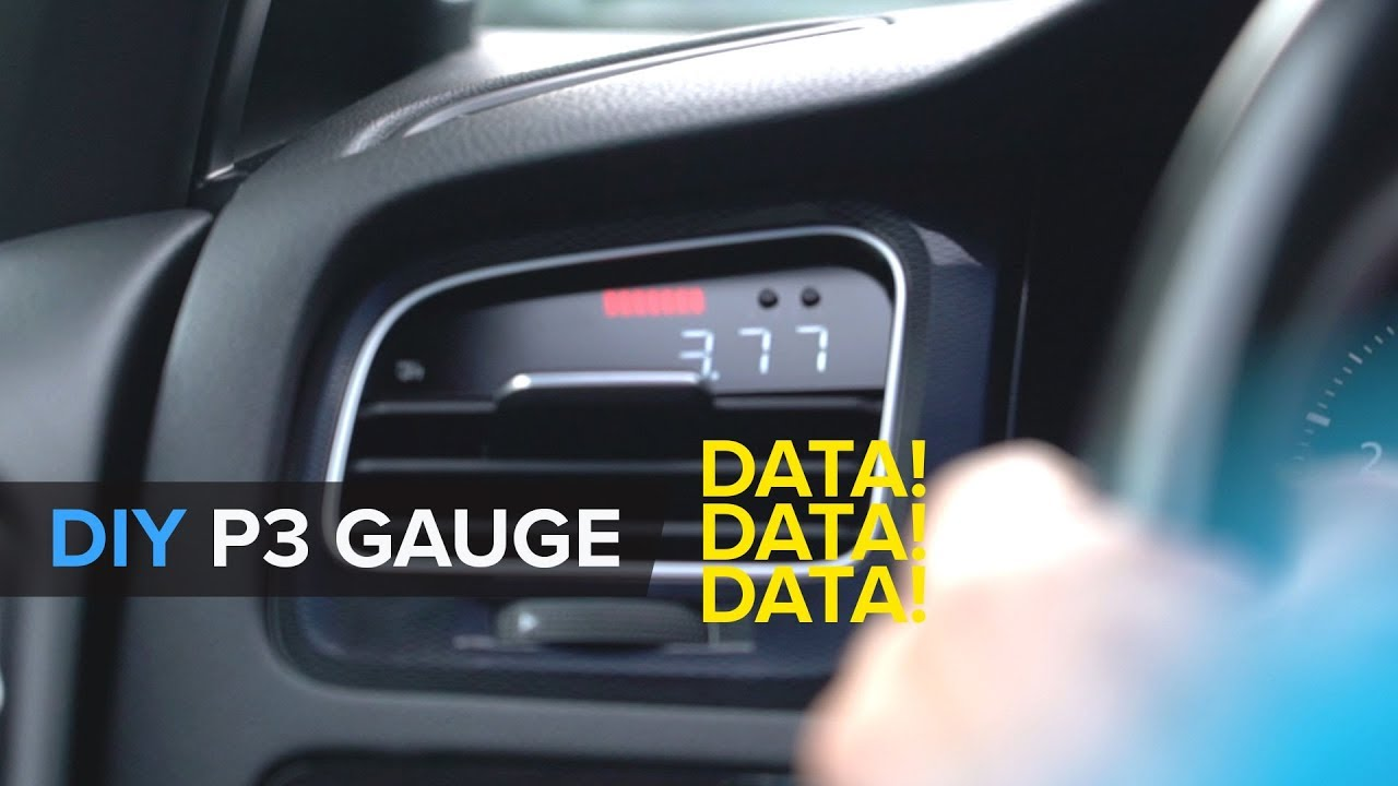 How To Install A P3 Multi Gauge For Your MQB VWAudi