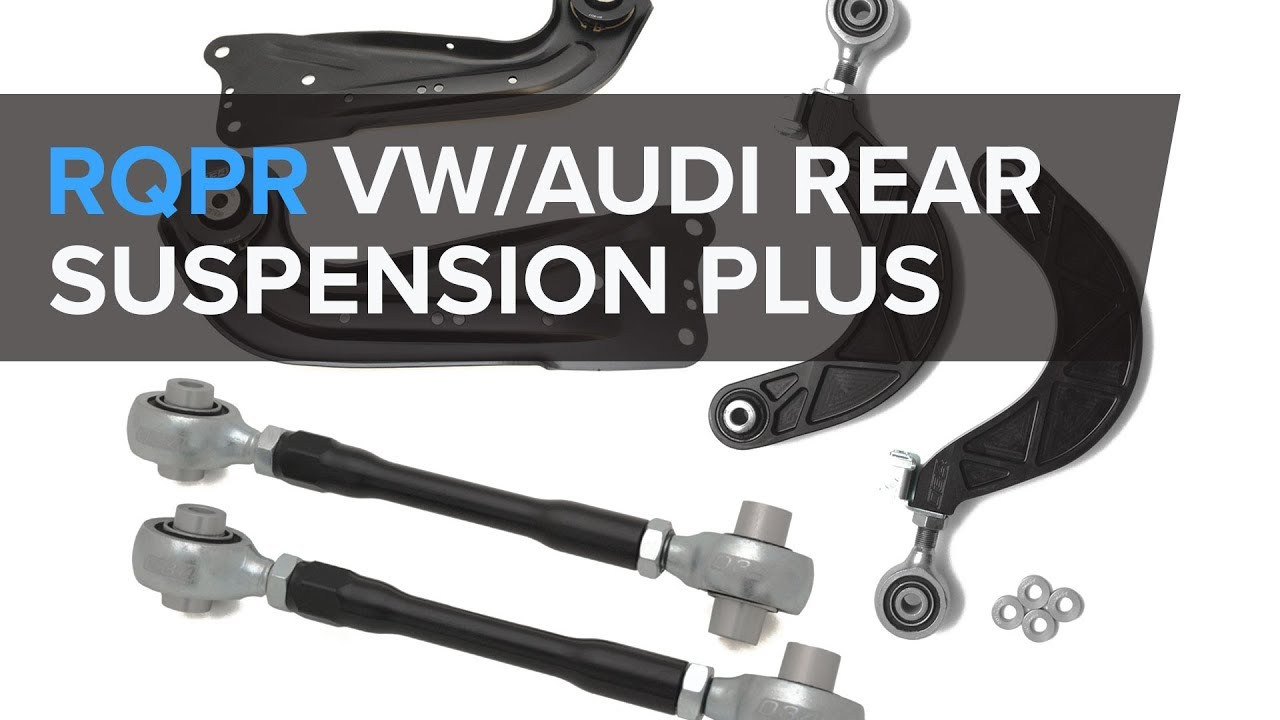 VWAudi 034 Motorsport - Trailing Arms, Camber Arms, and Toe Links (GTI, GOLF R, A3, S3, RS3)
