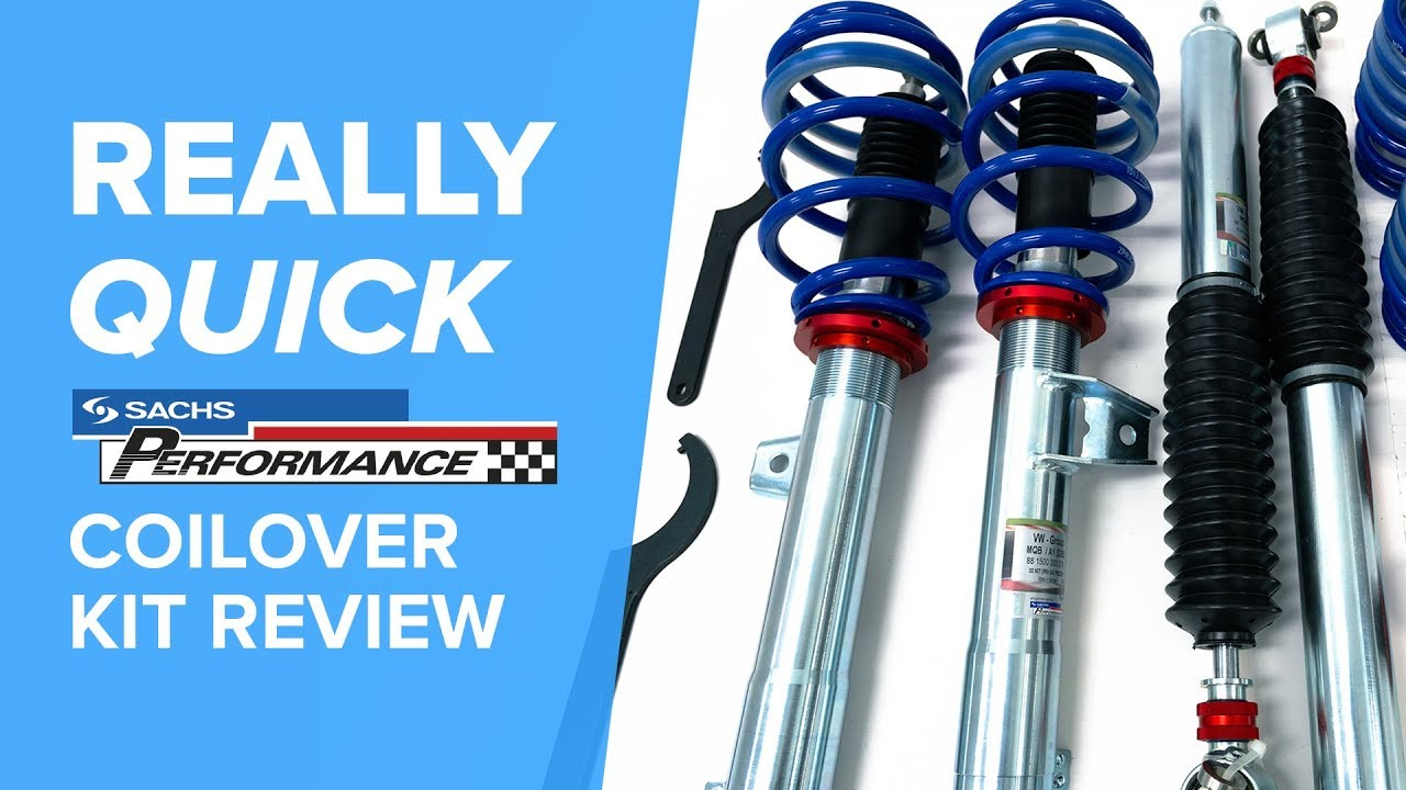 VWAudi Sachs Performance Coilover Kit - Really Quick Product Review - (Mk7 GTI, GOLF R, S3, A3)