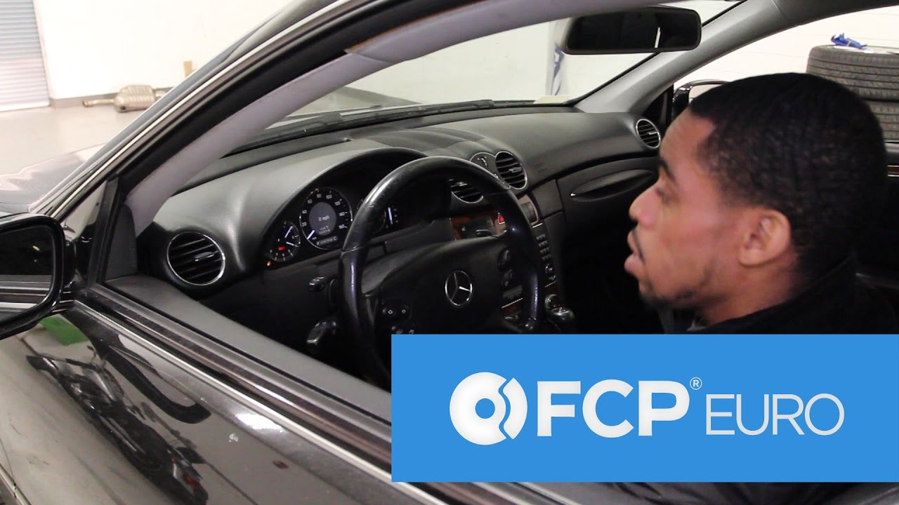 How to Reset the Steering Angle Sensor on ANY Mercedes - No Tools!