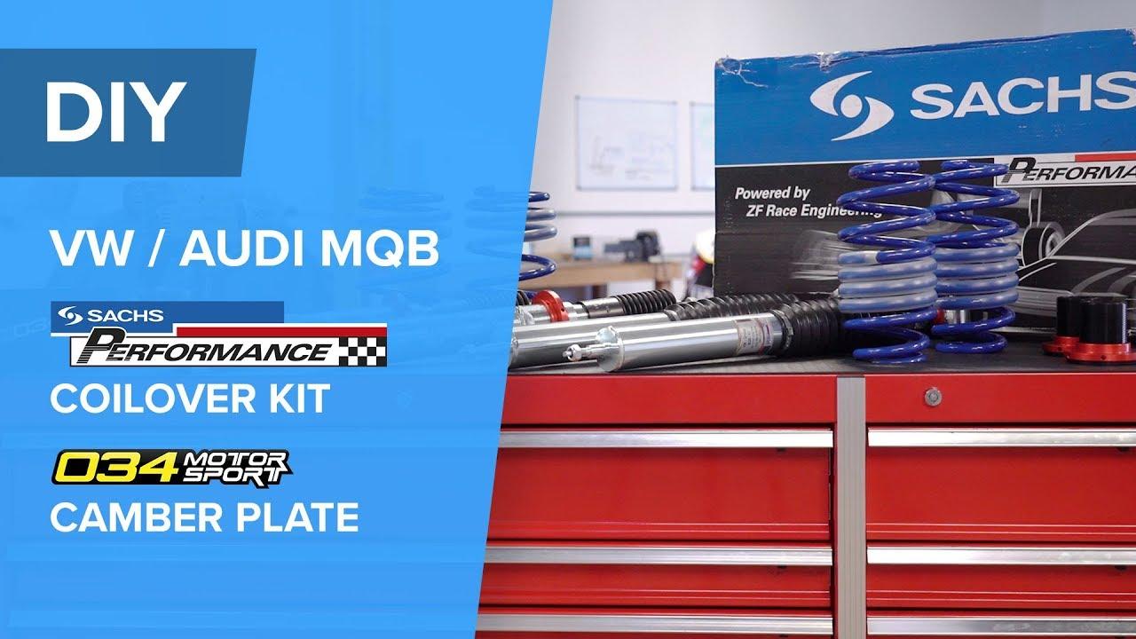 AudiVW Coilover Kit Installation - SACHS Performance (GTI, Golf R, S3, A3, A3 Quattro)
