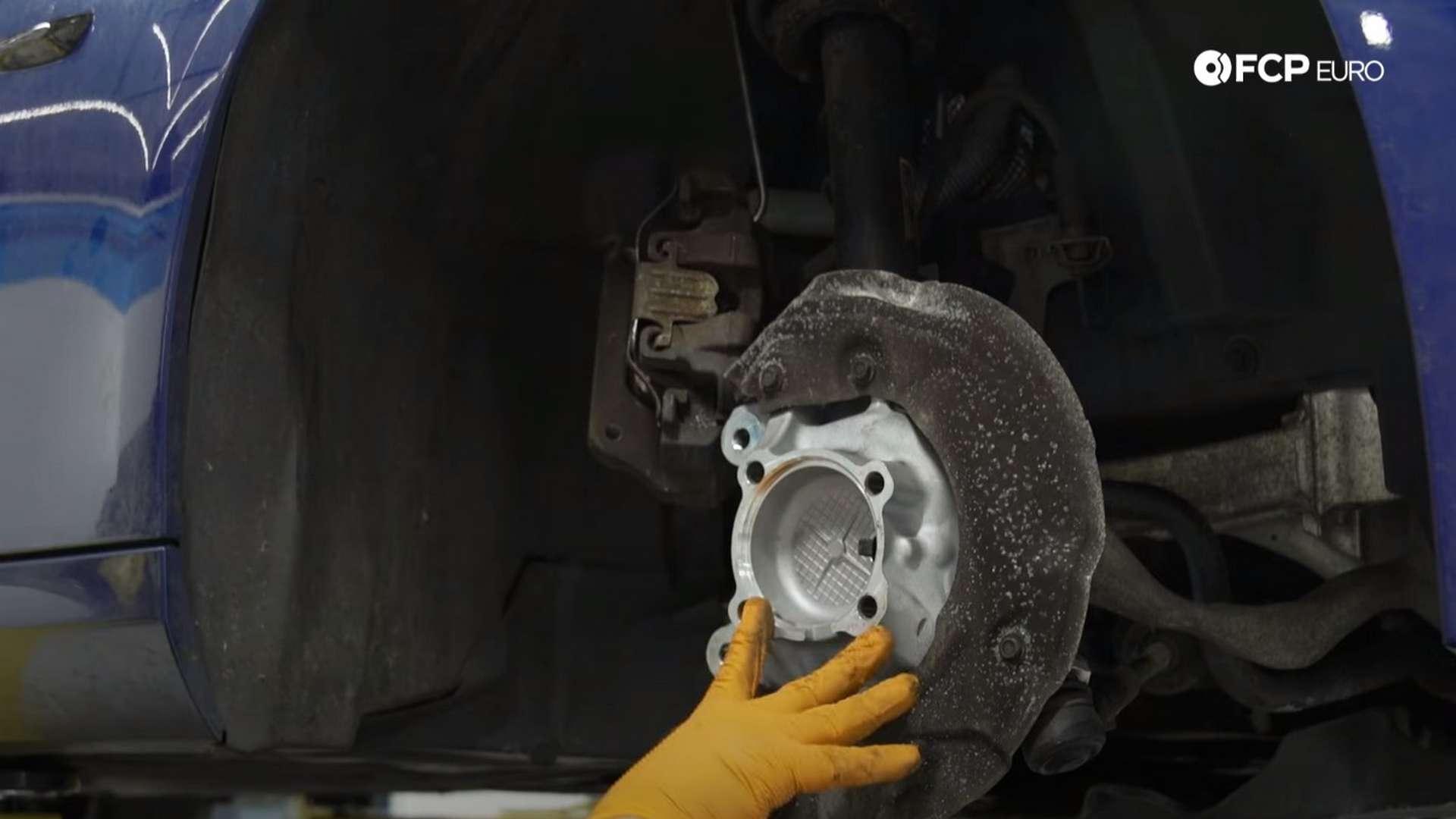How To Replace A BMW E90 Front Wheel Bearing (128i, 135i, 325i, 328i, 330i, 335d)