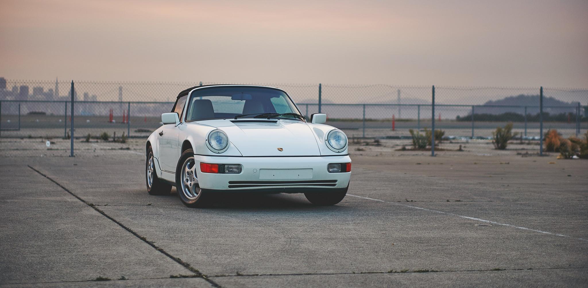 Weekend Wallpaper: 1991 Porsche Carrera C2 Cabriolet