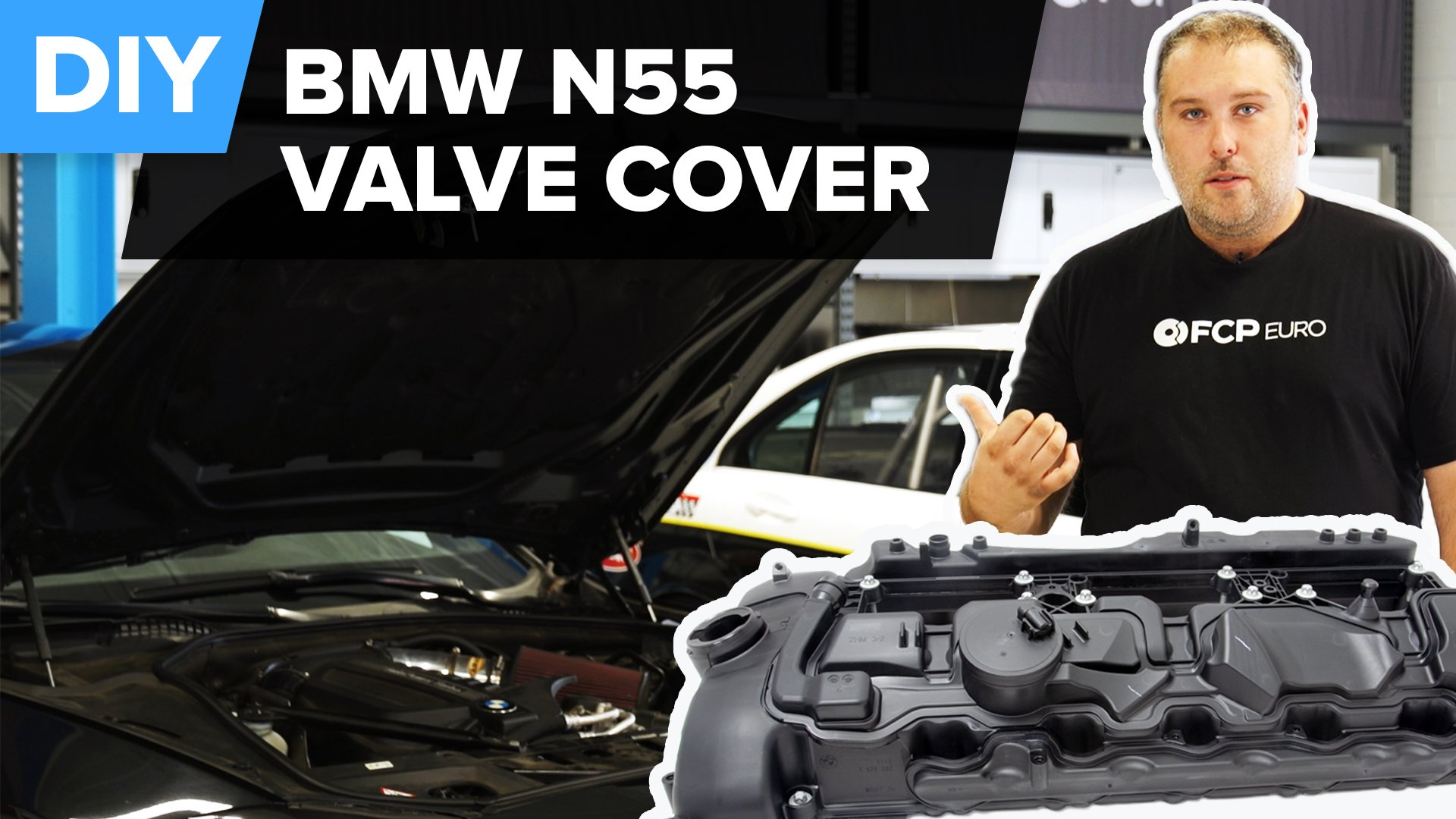 How To Replace The Valve Cover On A BMW N55 Engine (X5, X3, 335i, & More)