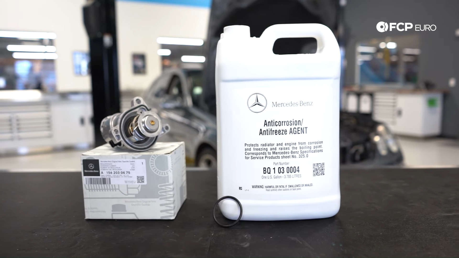 Mercedes-Benz M156 Engine Thermostat Kit (C63 AMG, E63 AMG, SLS AMG & More) - Failure Symptoms And Review