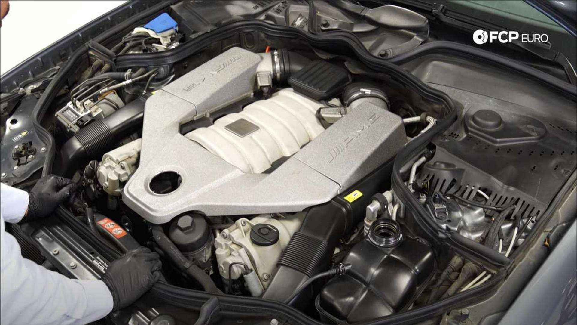 How To Replace The Thermostat On A Mercedes-Benz M156 Engine (C63 AMG, E63 AMG, SLS AMG & More)