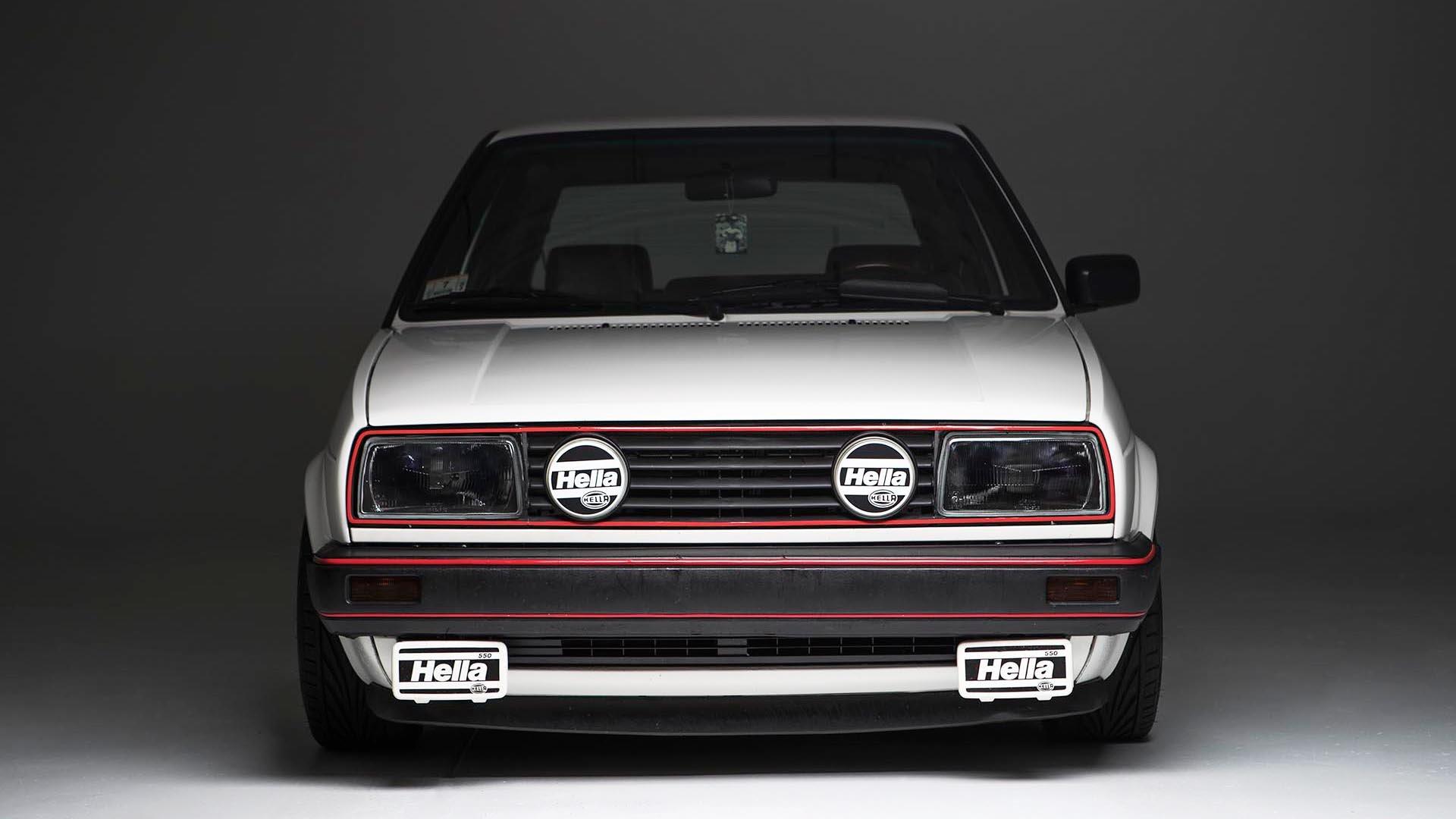 Home Brew Mk2 - 1989 Alpine White Mk2 Volkswagen Golf