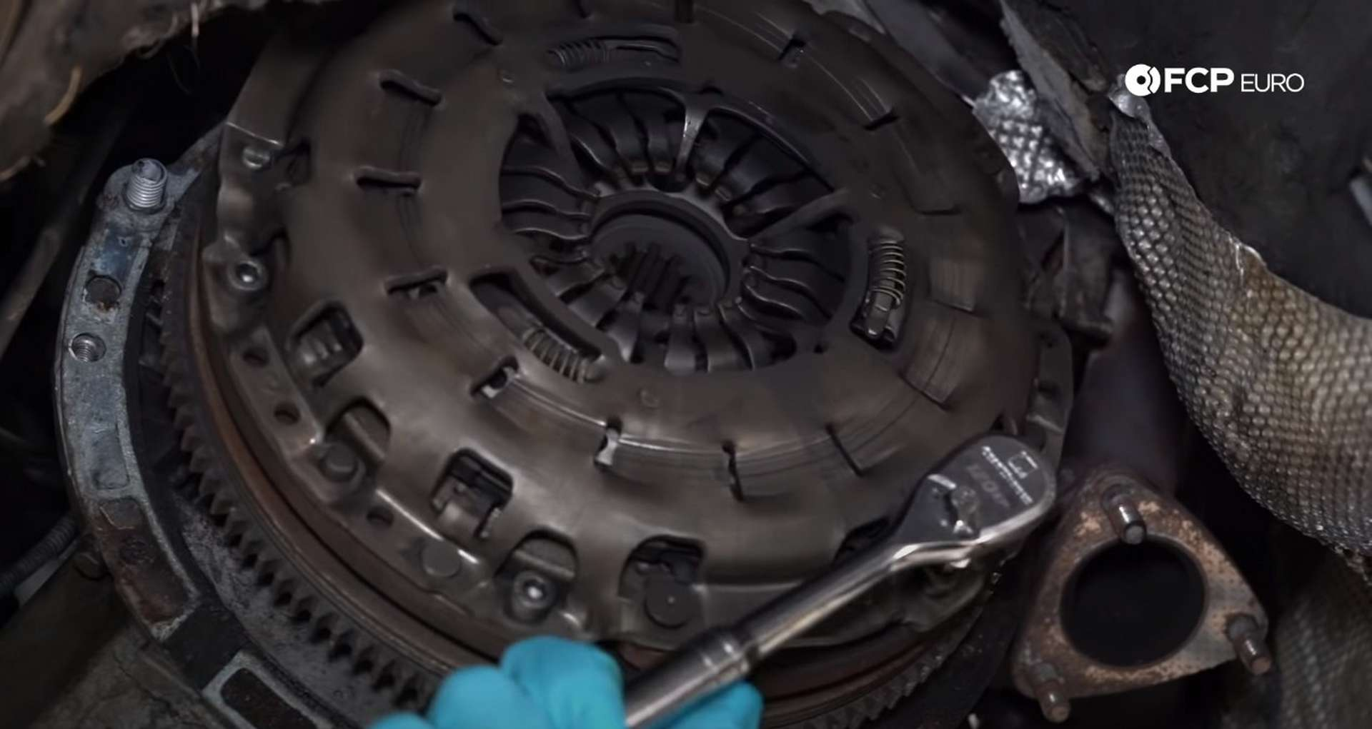 How To Replace The Clutch, Flywheel, & Rear Main Seal On A BMW E46