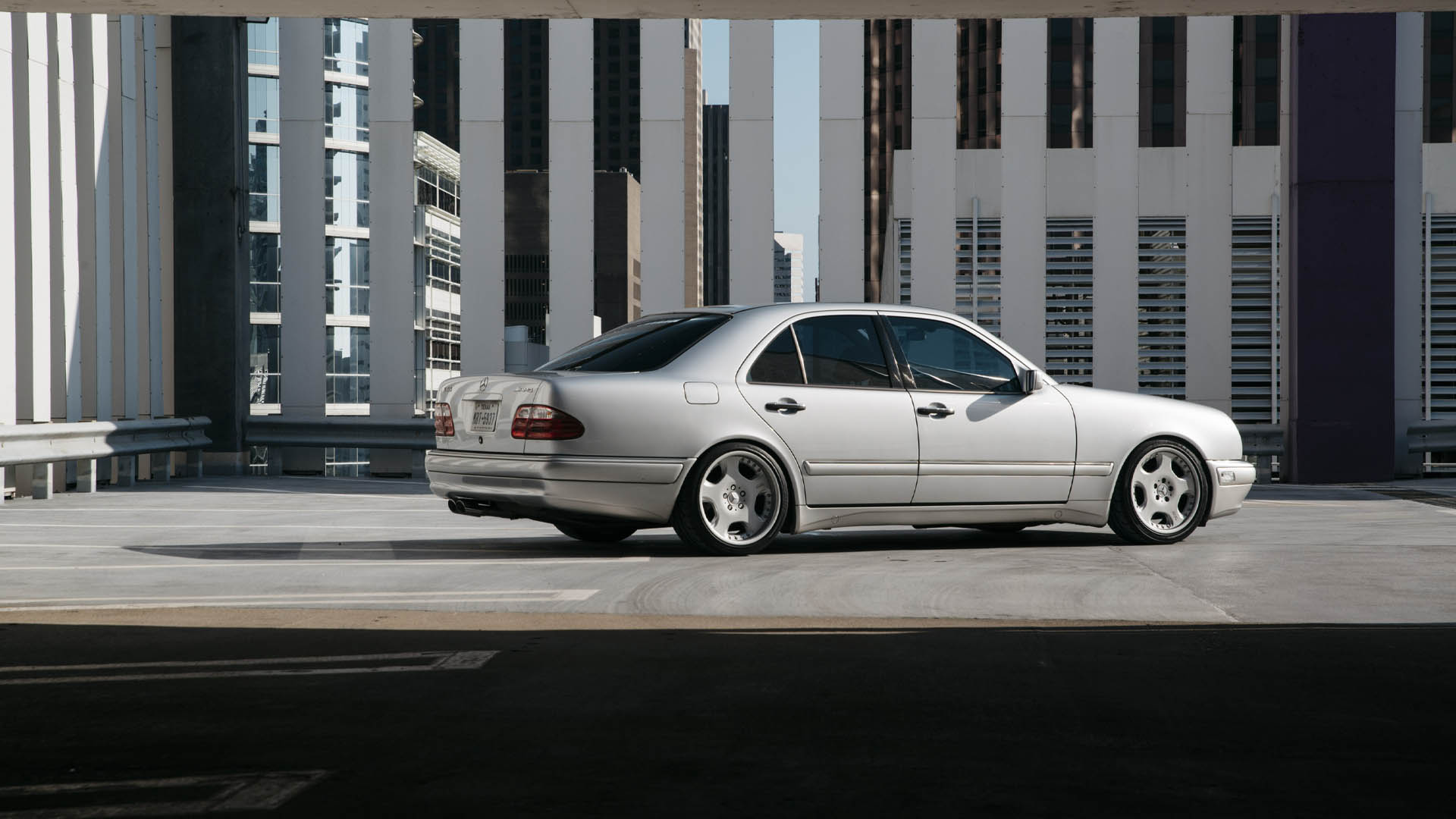 Three-Pedal AMG - Manual-Swapped Mercedes E55 AMG