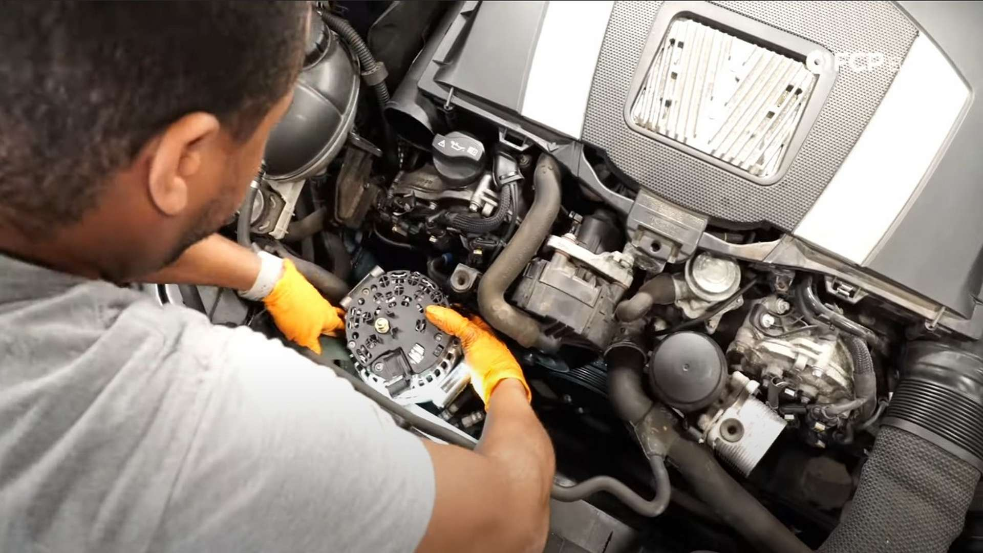 How To Replace The Alternator & Drive Belt On A Mercedes W212 & W204