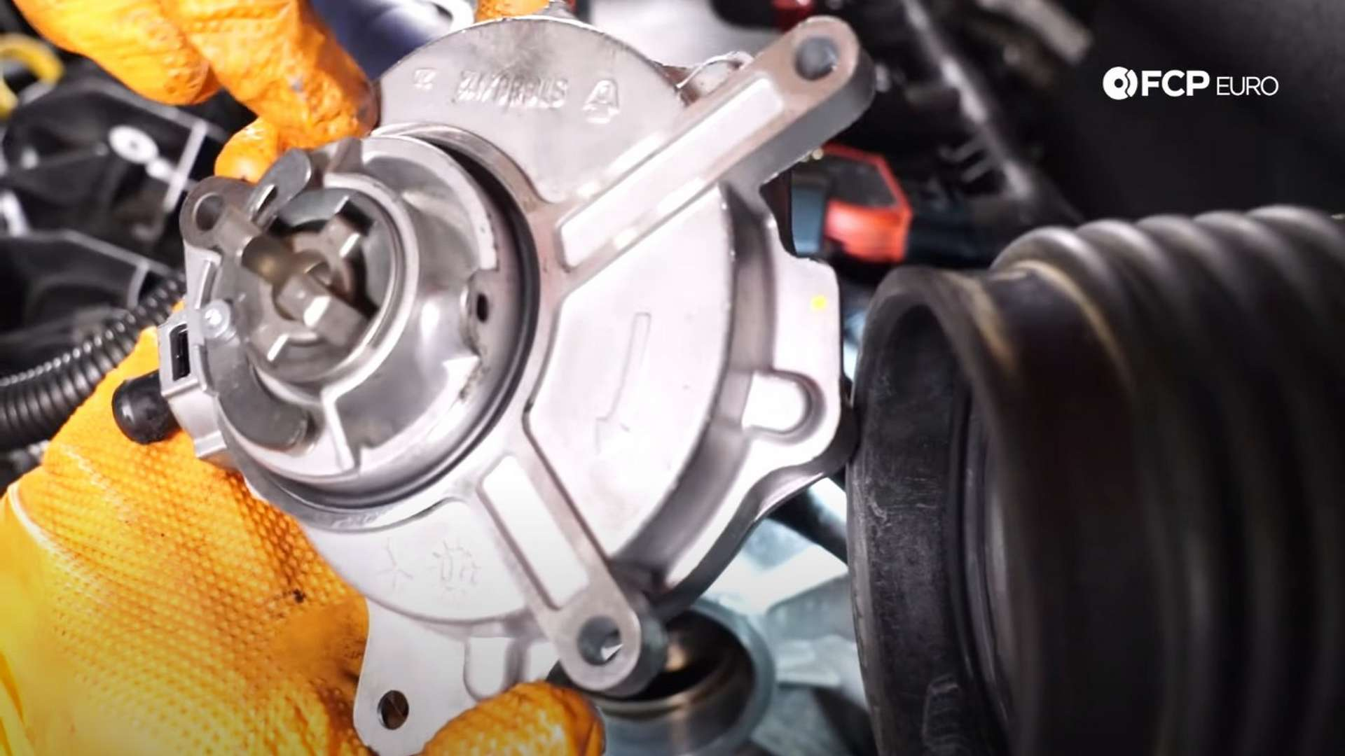 How To Replace The Brake Vacuum Pump On A Volkswagen Mk5 GTI (Audi A3, A4, VW Jetta, & More)