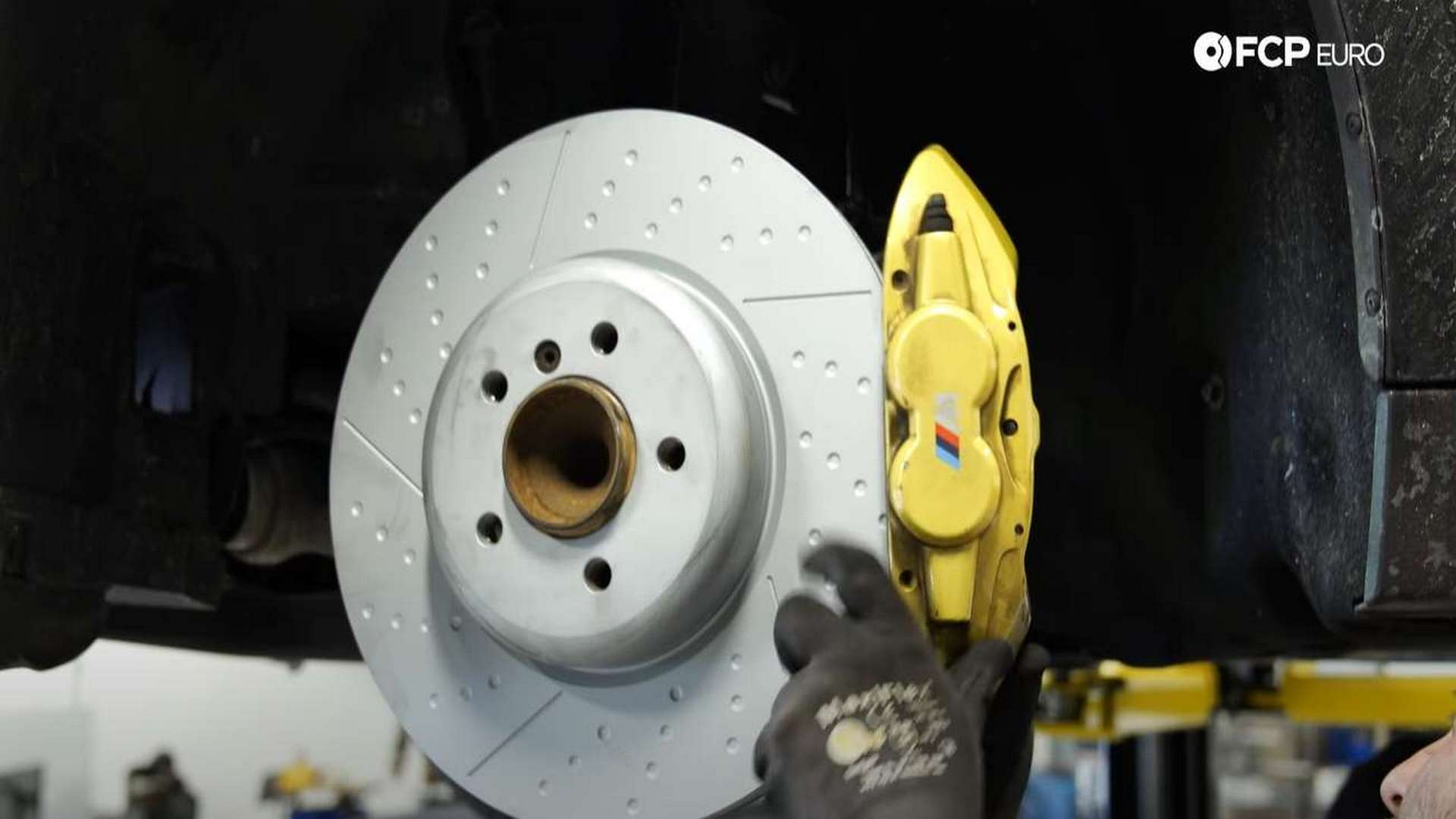 How To Replace BMW F30 M-Sport Front Brake Pads & Rotors